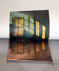 Printing a black plate on copper